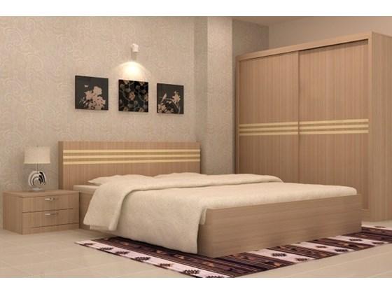 Đặc điểm của bộ giường tủ gỗ MDF
