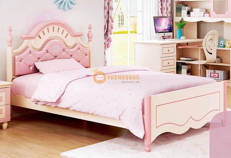 Giường ngủ cho bé gái đáng yêu HHM910B-G
