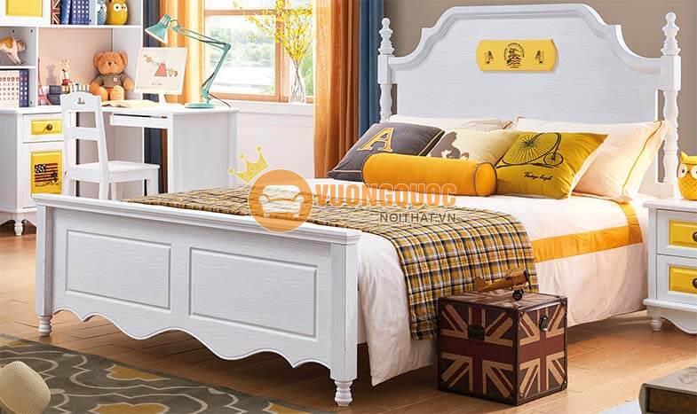 Giường ngủ trẻ em cao cấp JY603G