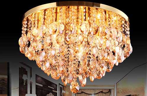 Mẫu đèn ốp trần trang trí giá 5 triệu