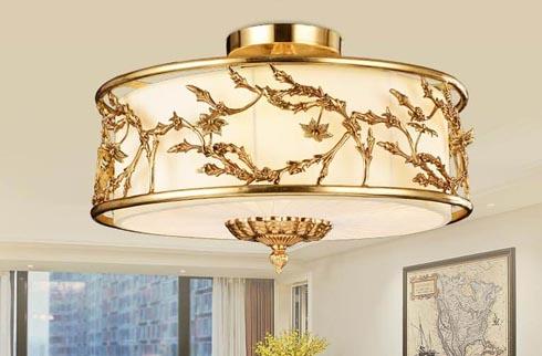 Mẫu đèn ốp trần trang trí trên 10 triệu
