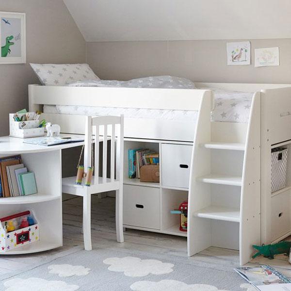Giường ngủ kết hợp bàn học - mang đến môi trường sống hiện đại