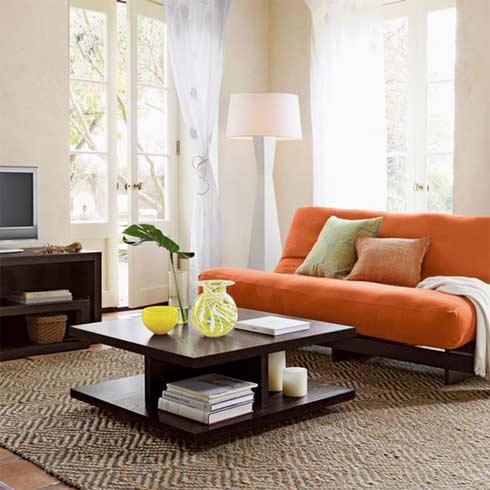 Bộ bàn ghế sofa phòng khách nhỏ đơn giản