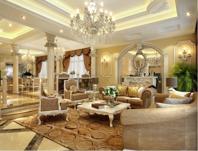 mẫu ghế sofa phòng khách biệt thự