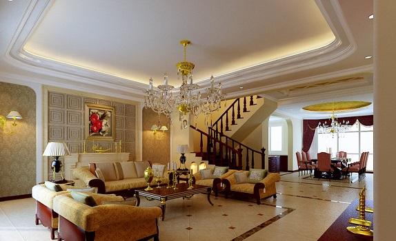 sofa phòng khách biệt thự đẹp