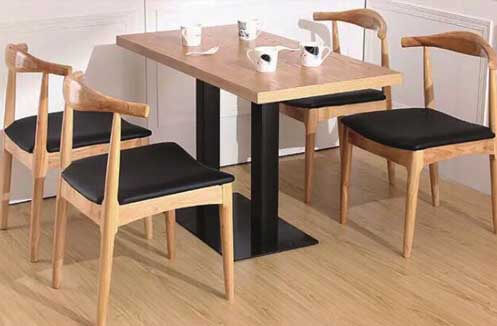 Bộ bàn ghế quán café gỗ cao cấp