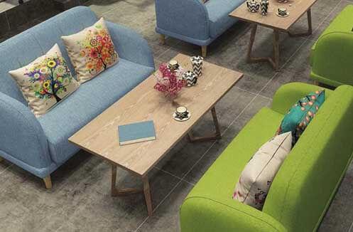 Bộ bàn ghế sofa café êm ái cao cấp