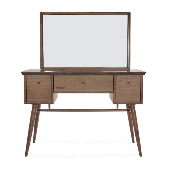 Bàn trang điểm gỗ tự nhiên thiết kế đẹp và ấn tượng