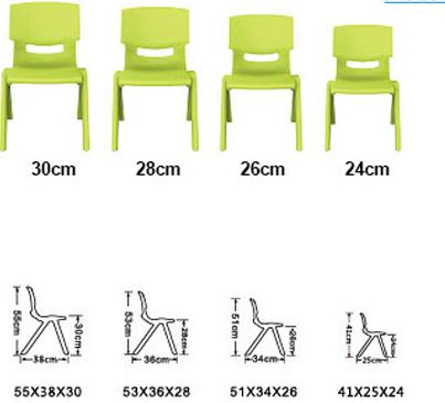 Kích thước bàn học sinh mầm non
