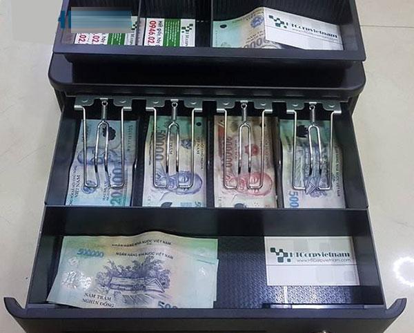 Cách sử dụng ngăn kéo đựng tiền thu ngân